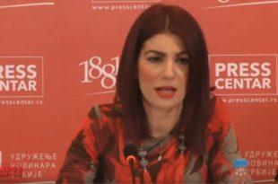 Конференција за новинаре поводом забране мирног родитељског протеста од стране МУП-а (видео)