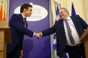 Коцијас и Димитров договорили ново име: Република Северна Македонија