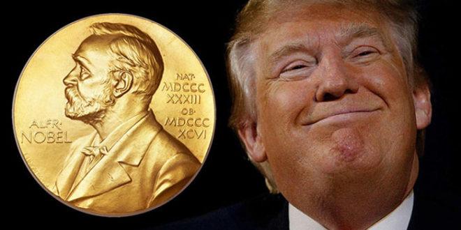 Норвешки посланик предложио Трампа за Нобелову награду за мир