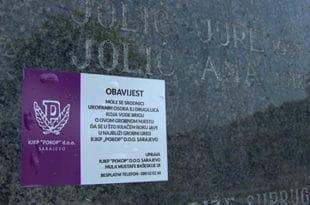 На Сарајевским гробљима нема мјеста за Србе, 13 000 гробова прекопавају а кости шаљу на спаљивање