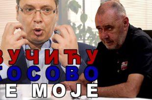 """""""Косово није Вучићево, него моје"""": Драгољуб Жарковић (видео)"""