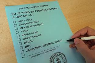 ВЕЛЕИЗДАЈНИК расписује референдум: ''Ко је крив за губитак Косова, а нисам ја''? 6