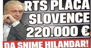 БРУКА! РТС плаћа Словенцима 220.000 евра да сниме филм о Хиландару 2