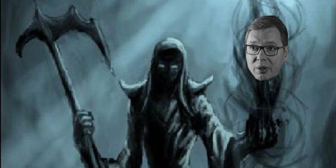 Балада о напуштеном дикатору: Гађење, или то смрт долази