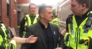 ПОЛИТИЧКИ ЗАТВОРЕНИК: Британци ухапсили десничара Томија Робинсона и страпали га у затвор на 13 месеци (видео) 11