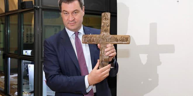 Све државне канцеларије у Баварској од 1. јуна морају имати истакнут крст на улазу 1