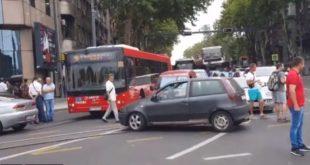 У Београду поново блокирана Славија у знак протеста због високих цена горива (видео) 3