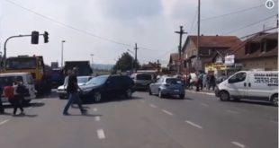 Блокиран пут ка Борчи и Панчевачком мосту (видео) 13