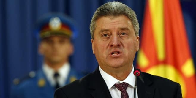 Председник Македоније одбио да стави потпис на договор о имену 1
