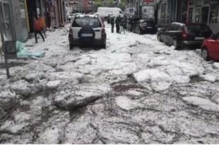 Људи и даље у неверици како је невреме задесило центар Ужица! (видео)