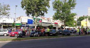 Како је прошао протест због високих цена горива у Новом Саду (видео) 8