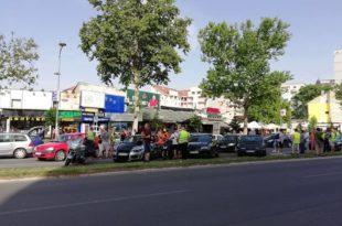 Како је прошао протест због високих цена горива у Новом Саду (видео) 9