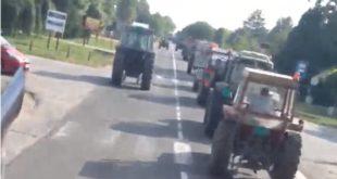 И код Панчева поново тракторска блокада! (видео)