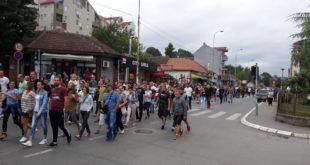 Лазаревац: Протест против хапшења Жарка Павловића и још петорице људи (фото, видео) 10