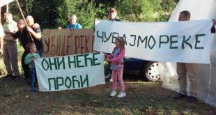 Опет протест против градње хидроелектрана, овог пута у селу Ракита код Бабушнице 5