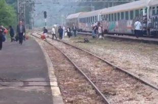 ХИТ НА ИНТЕРНЕТУ! Главна међународна железничка станица у Србији (видео)