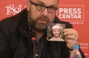 Човек чију је фотографију новинар Цветковић показао у вези са убиством Ивановића заправо је БЛОГЕР ИЗ КАНАДЕ?