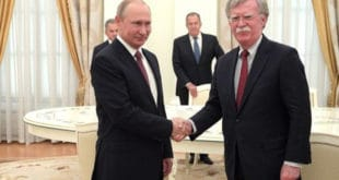 Након посете Џона Болтона Кремљу, договорен састанак Владимира Путина и Доналда Трампа 6