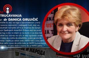 БЕЗ УСТРУЧАВАЊА - Даница Грујичић: НАТО је једна злочиначка организација! (видео)