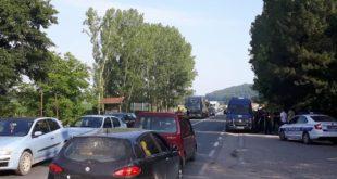 Ибарска магистрала блокирана у Жупањцу 6