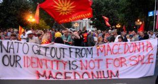 Протест против Заева у Скопљу, он оптужио Иванова да је стао на пут Македоније у ЕУ и NATO