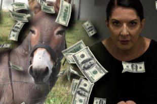 Држава платила 80.000 евра за ДВД у коме Марина Абрамовић гледа у магарца 2