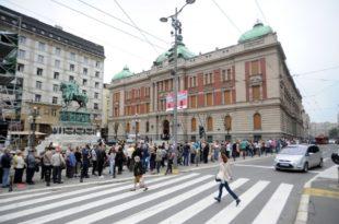 На обилазак Народног музеја чекало се и по неколико сати (видео)