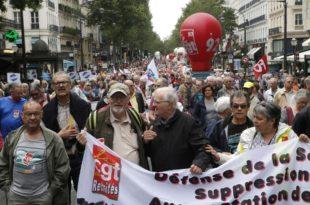 Париз: Хиљаде француских пензионера протестовало против повећања пореза на пензије