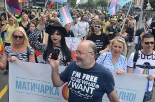 Стотинак содомита сатима блокирали Београд 9