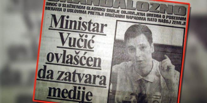 Да ли ВЕЛЕИЗДАЈНИК спрема цензуру интернета и затварања медија пред издају Косова? 1