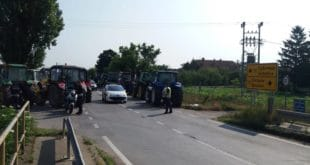 Трактори изашли на друмове у Банату, Сомбору, Малом Црнићу (фото) 12