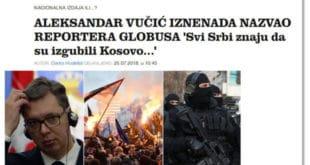ВЕЛЕИЗДАЈНИК у хрватским медијима: Сви Срби знају да су изгубили Косово 3