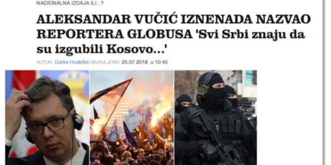 ВЕЛЕИЗДАЈНИК у хрватским медијима: Сви Срби знају да су изгубили Косово