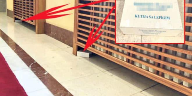 Зграда владе у Немањиној 11 пуна мишева и пацова! 1