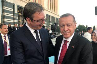Српски дикатор обожава рањеног султана Ердогана