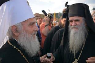 РАСКОЛНИЦИ СПРЕМАЈУ ИНЦИДЕНТ НА ЦЕТИЊУ: Јајима на патријарха Иринеја?