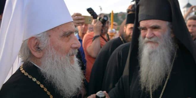 РАСКОЛНИЦИ СПРЕМАЈУ ИНЦИДЕНТ НА ЦЕТИЊУ: Јајима на патријарха Иринеја? 1