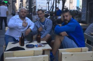 Бели одрадио председничке и локлане изборе и отворио кафић у центру Београда (фото) 5
