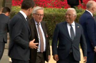 """Погледајте пијаног """"председника"""" ЕУ (видео)"""