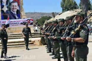 Сиријска армија потпуно ослободила провинцију Кунејтра која се граничи са Израелом