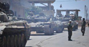Сиријска армија на само два километра од границе са Јорданом (видео)
