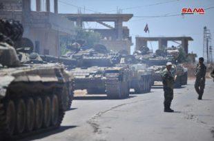 Сиријска армија на само два километра од границе са Јорданом (видео) 6
