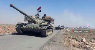 Сиријска армија преузела контролу над делом границе са Јорданом (видео)
