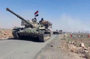 Сиријска армија преузела контролу над делом границе са Јорданом (видео) 3