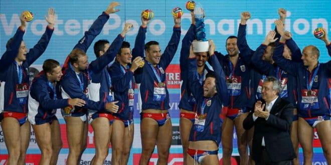 Српски ватерполисти шампиони Европе! 1
