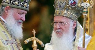 Руски патријарх Кирил крајем августа у Цариграду код Фанариоте који убија Православље 1