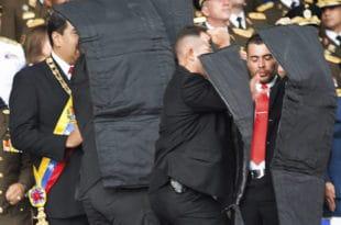 ПОКУШАЈ АТЕНТАТА: Напад на Мадура дроновима, рањено седам војника  (фото, видео) 8
