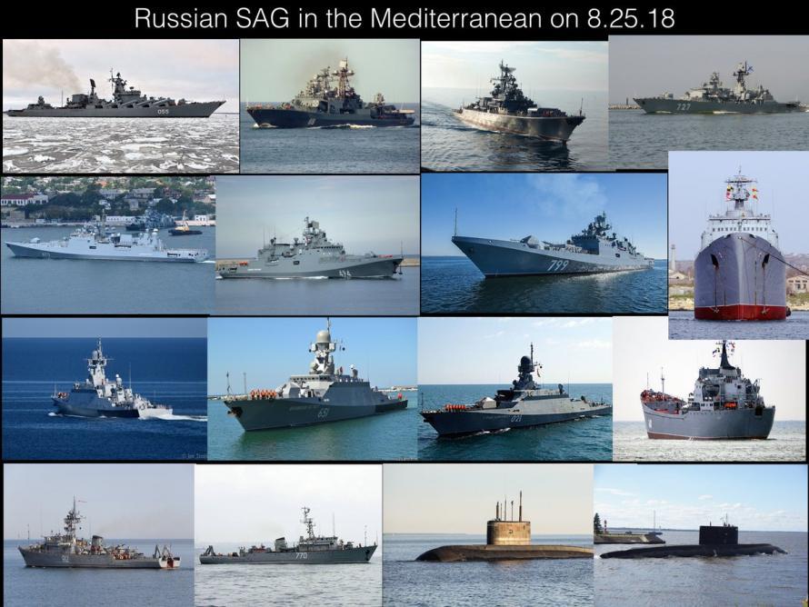 Медитеран: Пред сиријском обалом највећа руска поморска армада икада 2