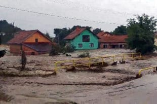 Хаос у Жагубици услед пуцања нелегалне бране, саграђене због мале хидро-електране? (фото)