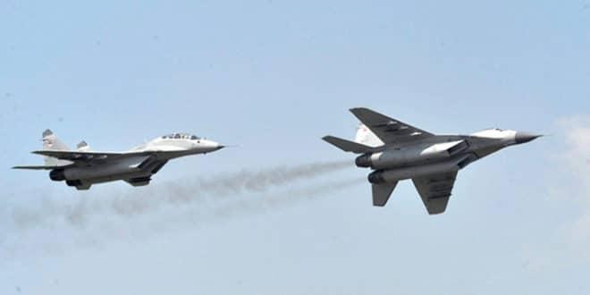Полетела прва два модернизована МиГ-29 – са српским пилотима 1